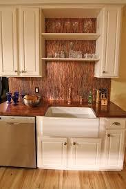 copper kitchen backsplash ideas stunning copper backsplash for modern kitchens copper backsplash