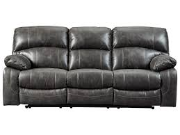 Power Recliner Sofas Signature Design By Dunwell Faux Leather Power Reclining