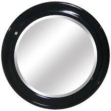 Round Bathroom Mirror by Shop Yosemite Home Decor 35 5 In W X 35 5 In H Black Round