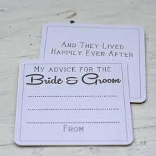 Advice To Bride And Groom Cards 10 X Advice For The Bride U0026 Groom Card Coasters Alternative