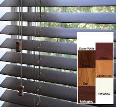 Mahogany Faux Wood Blinds Arlo Blinds Safe Er Grip Customized Real Wood 17 Inch Wide Window