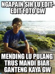 Edit Meme - ngapain sih lu edit edit foto gw sadas meme on memegen