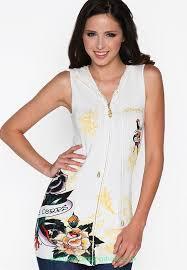 clothing womens ed hardy hoodies white rose uk 4104161 ed hardy