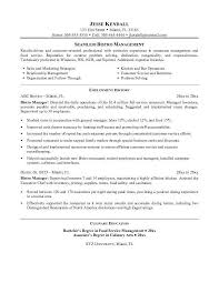 monster com resume templates restaurant theatre manager resume sample resume samples