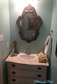 French Powder Room Powder Room Makeover Patina And Paint