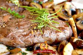 cuisiner avec la plancha rumsteak aux chignons cuit à la plancha petits plats entre amis