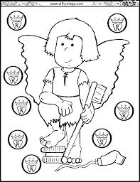 teeth coloring pages preschool 305004