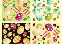 cute easter template graphics vector cute easter template