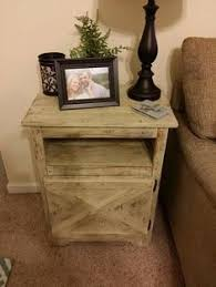 Free Plans To Build End Tables by Ana White Build A Rustic X End Table Free And Easy Diy Project