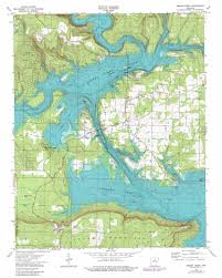 Ar Map Greers Ferry Topographic Map Ar Usgs Topo Quad 35092e2