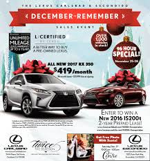 lexus ads remember lexus carlsbad and escondido