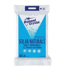home depot solar solar naturals water softener salt crystals