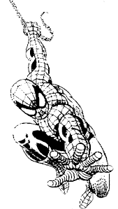 spiderman coloring print spiderman pictures color