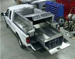 Truck Bed Dog Kennel Tool Boxes Compact Pickup Tool Box Mid Size Truck Tool Box