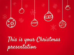 free presentation template christmas special