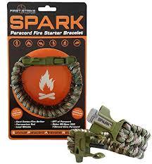 fire cord bracelet images Spark tm fire starter outdoor survival paracord jpg