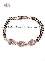 silver fine bracelet images Larger silver fine cz diamond hand mangalsutra indian jewellery jpg