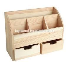 rangement stylo bureau boite en bois rangement mzaol com