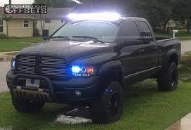 2004 black dodge ram 2004 dodge ram 1500 fuel hostage rancho suspension lift 6in