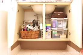 Storage Containers For Bathrooms by Operation Re Organization Bathroom After