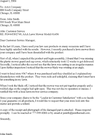 Formal Complaint Letter Format Sle customer complaint letter template customer complaints letter
