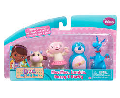 doc mcstuffins playhouse disney by just play doc mcstuffins 4 pack toy friends figures