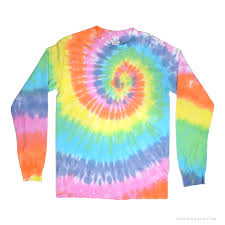 Tie Dye Halloween Shirts by Pastel Rainbow Spiral Tie Dye Long Sleeve T Shirt Rainbow On Sale