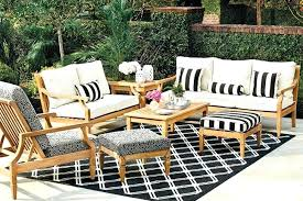 Black Patio Chair Black Patio Cushions Black And White Striped Patio Cushions Black