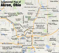 of akron map judgmental maps akron oh by mitch d copr 2014 mitch d all