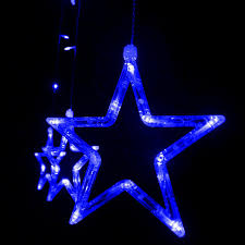 110v 240v led star lights home outdoor holiday christmas