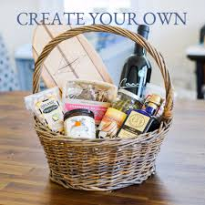 create your own gift basket santa barbara company