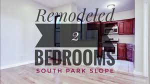 remodeled bedrooms remodeled 2 bedrooms apartment in south park slope on 8th avenue