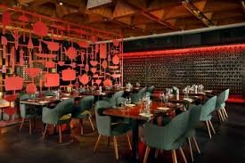 restaurant decorations red table s restaurant one decor