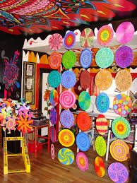 diy room divider diy mandala room divider using old records to decoupage paper or