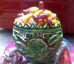 Fruit Bowls by Carving Watermelon Fruit Bowl Pinoy Style Watermelon Commonly