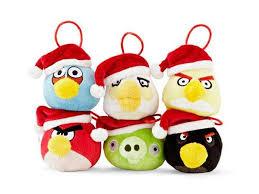 santa avian ornaments angry birds tree decoration