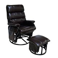 Glider Recliner With Ottoman For Nursery Fascinating Glider Rocker Recliner With Ottoman Glider Recliner