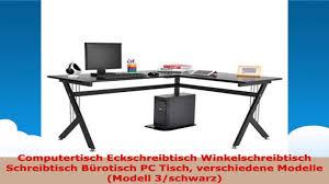 Pc Schreibtisch Computertisch Eckschreibtisch Winkelschreibtisch Schreibtisch