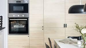 ikea metod kitchen wall cabinets a light wood effect askersund kitchen ikea