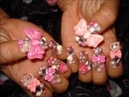 3d Nails Art Designs 50 Most Beautiful 3d Nail Art Designs For Beautiful Girls Part I