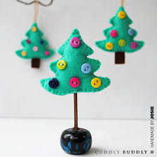 felt christmas felt christmas tree ornament tutorial pictures photos and images