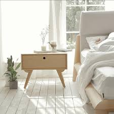 Small Nightstand With Drawers Bedroom Snazzy Bedroom Furniture Unique Nordic Natural Wood Small