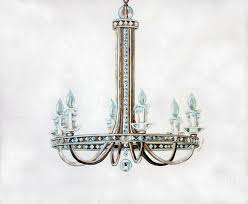 Painting Of Chandelier Chandelier Painting A Wall Styles And Variations Of The