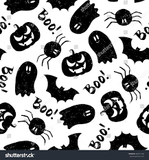 free halloween background texture halloween pattern pumpkin bat spider ghost stock vector 480311188