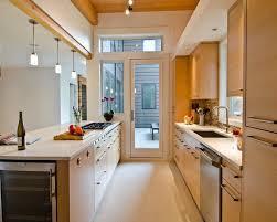 Galley Kitchen Design Ideas Opening Up A Galley Kitchen Fogtofire