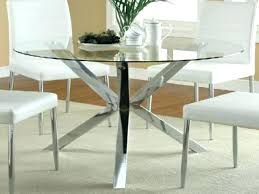 Dining Table 4 Chairs Set Round Glass Dining Table And Chair Set Hideaway Starrkingschool