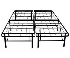 deluxe raised metal platform frame