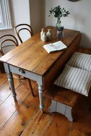 Pine Drop Leaf Table with Antique Drop Leaf Farm House Rustic Table Annaflorence