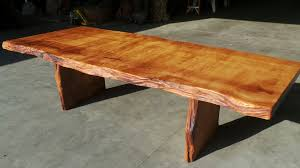 Live Edge Conference Table Rustic Dining Tables Live Edge Wood Slabs Redwood Burl Inc