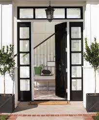 Front Door Design Photos 25 Best Black Front Doors Ideas On Pinterest Black Exterior